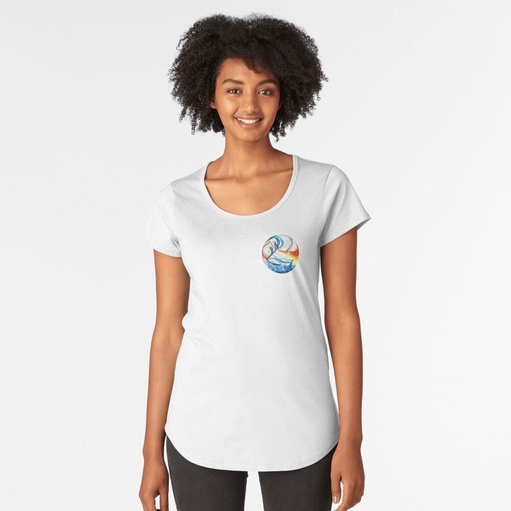 Marble Premium Scoop T-Shirt