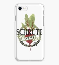Schrute Farms Bed and Breakfast iPhone Case/Skin