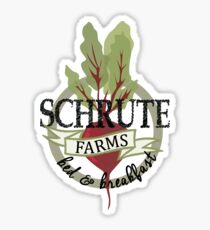 Schrute Farms Bed and Breakfast Sticker