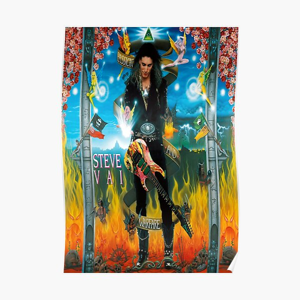 GUITARIST MUSIC STYLE  STEVE VAI 2016 Poster
