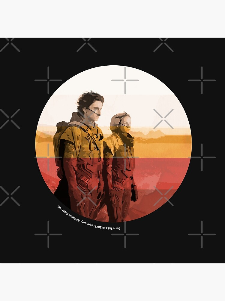 Dune 2020 / Inkpress Artwork by art-fox