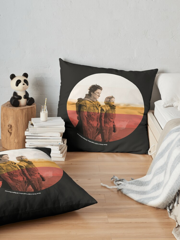 Alternate view of Dune 2020 / Inkpress Artwork Floor Pillow
