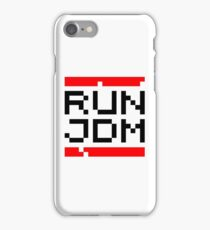 RUN JDM (1) iPhone Case/Skin