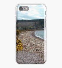 Driftwood on Loch Ness Beach  iPhone Case/Skin