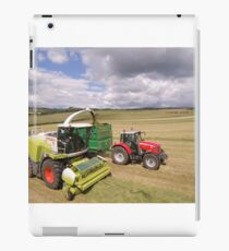 Forage Harvester at Barnglies iPad Case/Skin