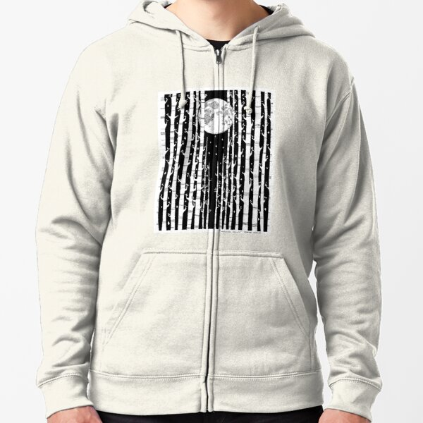 MoonLight Dream Zipped Hoodie