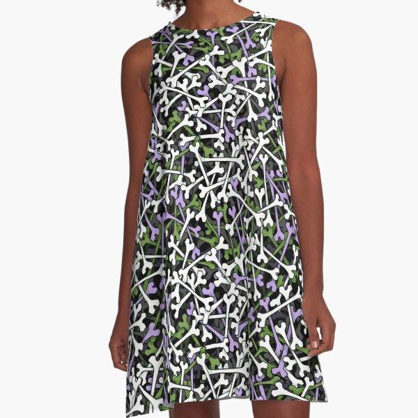 GenderqueerBones A-Line Dress