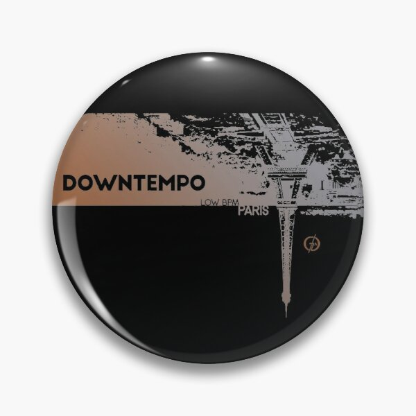Downtempo | Low BPM | Paris | Cold Dawn Pin