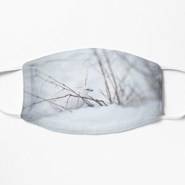 Rock Ptarmigan - Photograp Flat Mask