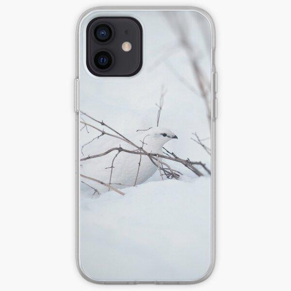 Rock Ptarmigan - Photograp iPhone Soft Case