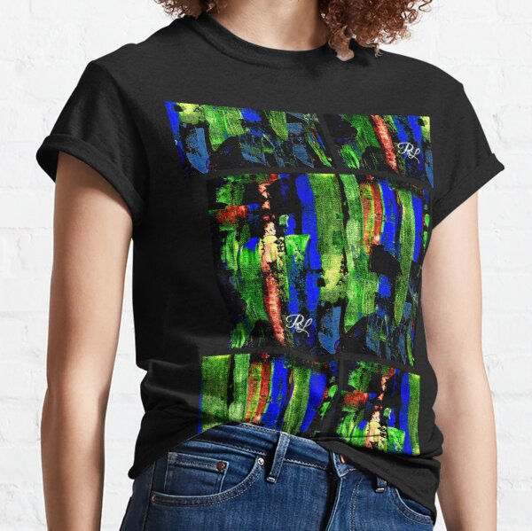 Glitch Abstract Classic T-Shirt