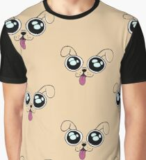 Laser Puppy Icon Graphic T-Shirt