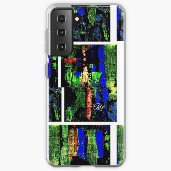 Glitch Abstract Samsung Galaxy Soft Case