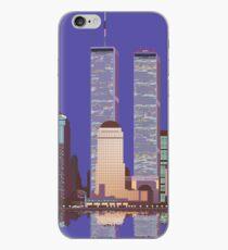 Vinilo o funda para iPhone Memorias del World Trade Center
