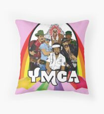 Village People - YMCA Throw Pillow