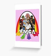 Village People - YMCA Grußkarte