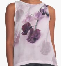 Sweet Pea Reflections in Mauve Contrast Tank