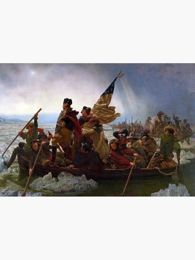Emanuel Leutze's Washington Crossing the Delaware by mosfunky