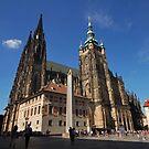 Prague St. Vitus Cathedral by Elena Skvortsova