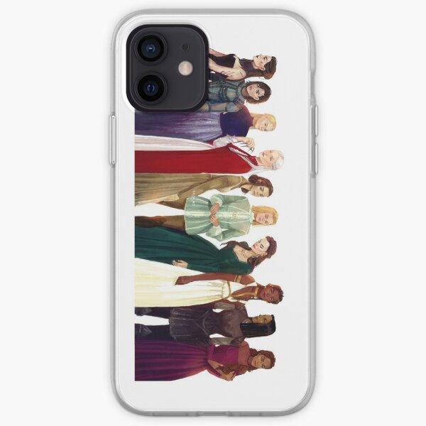 Mujeres del trono de cristal Funda blanda para iPhone