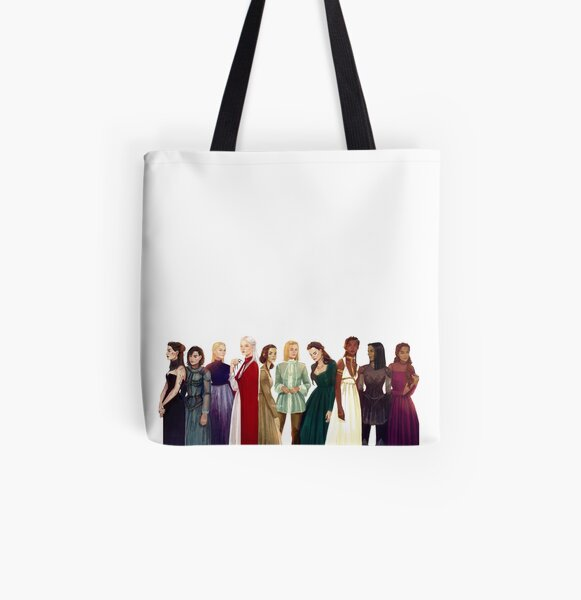 Women from Throne of Glass All Over Print Tote Bag