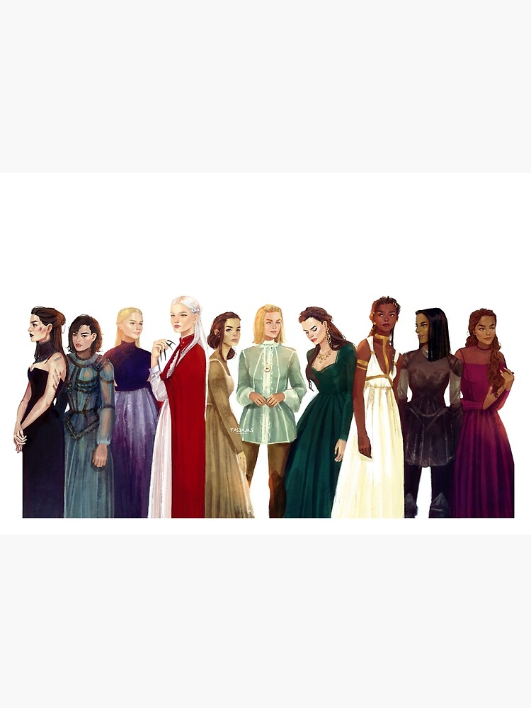 Women from Throne of Glass by Tasiams