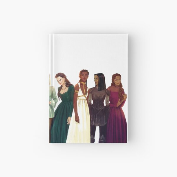 Women from Throne of Glass Hardcover Journal
