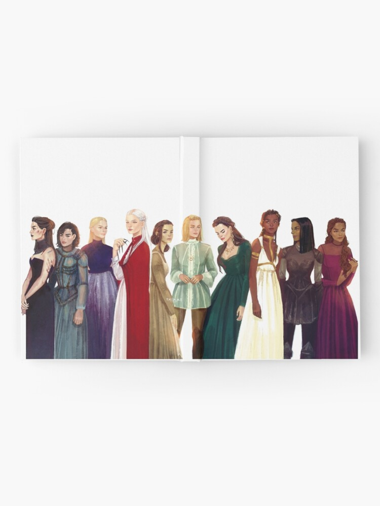 Alternate view of Women from Throne of Glass Hardcover Journal