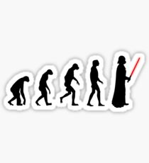 Evolution of the dark side Sticker