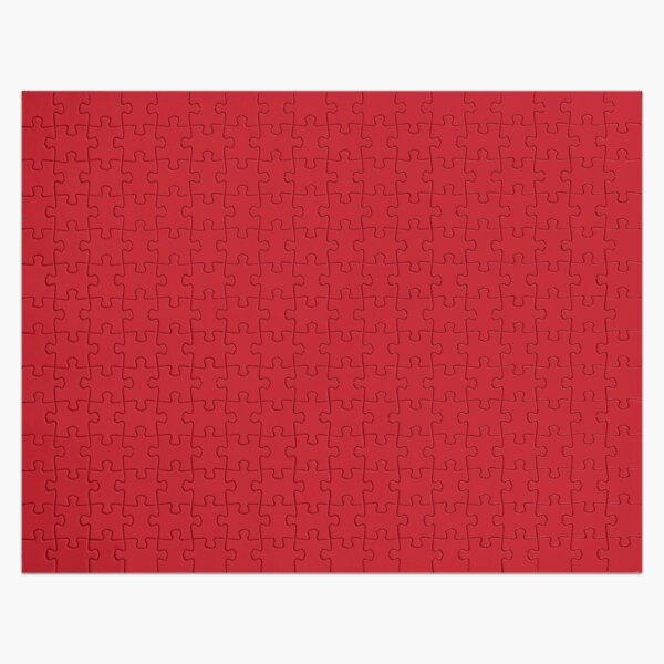 Red | Solid Color |  Jigsaw Puzzle