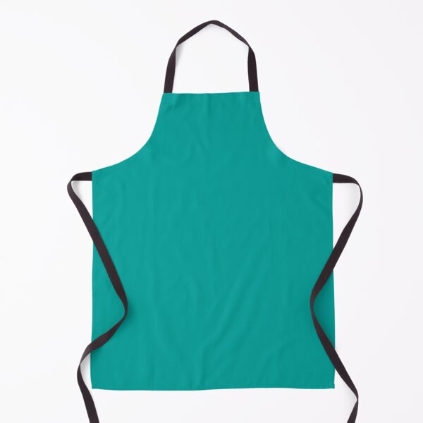 Teal | Teal Green | Solid Color |  Apron