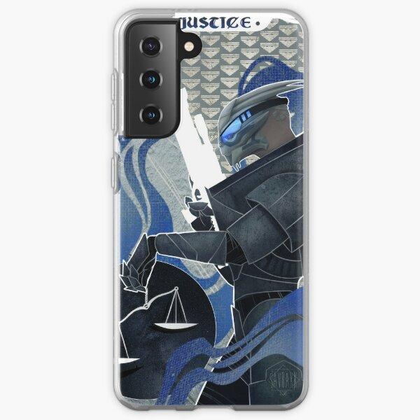 Garrus Vakarian Justiz Tarot Samsung Galaxy Flexible Hülle