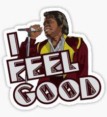 I Feel Good! Sticker