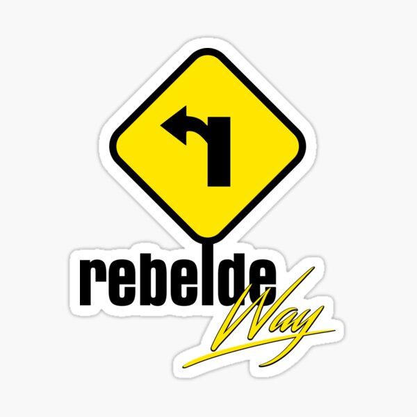 Rebelde Way Pegatina