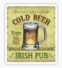 Irish Pub Sticker