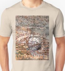 Walls and part of the beehive ceiling of Mussenden Temple,  Downhill, Northern Ireland T-Shirt