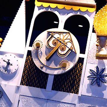 Small World Clock by mickeywaffles