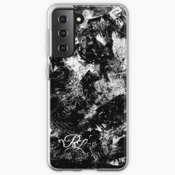 Black and White Abstract Samsung Galaxy Soft Case