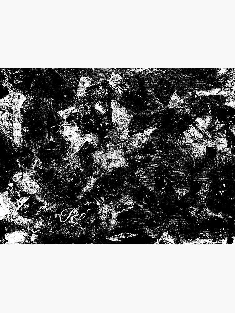 Black and White Abstract by PTnL