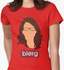 Liz Lemon - Blerg Women's Fitted T-Shirt