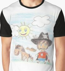 The Great Adventure of Pirate Boy Aaron Graphic T-Shirt