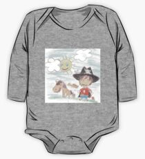 The Great Adventure of Pirate Boy Aaron One Piece - Long Sleeve