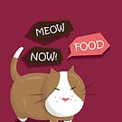 Meow Food Now! by Yoru