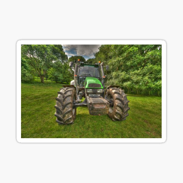 Deutz-Fahr Tracteur Sticker