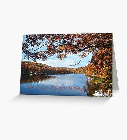 Thinking of You Today Greeting Card