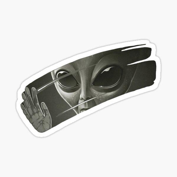 Außerirdischer Sticker