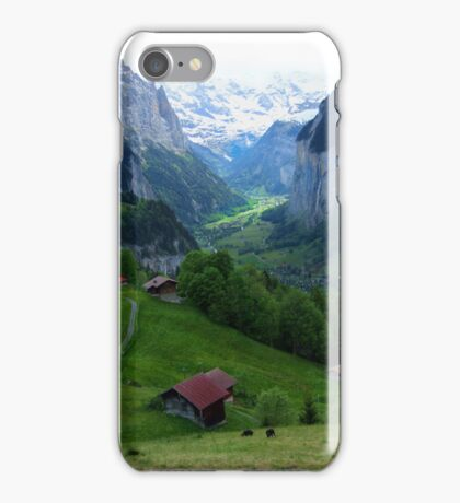 Lauterbrunnen, Late Afternoon iPhone Case/Skin