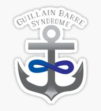 I Support Guillain-Barre Syndrome Sticker