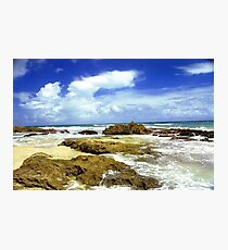 San Juan, Puerto Rico Beach  Photographic Print