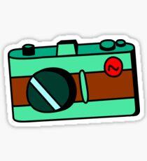 Camera - Teal Sticker